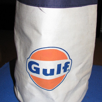 GULF GAS/YANKEES TOTE BAG