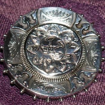 Victorian Silver Brooch - Fine Jewelry
