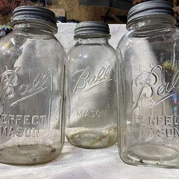 More mysteries. Mason jar mysteries.  - Bottles