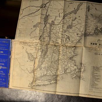 1854 Boston Almanac - Books