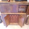 Antique RCA Victrola Magic Brain Radio Cabinet