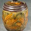 Doulton Natural Foliage tobacco jar