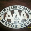 AAA Motor Club Car Badge