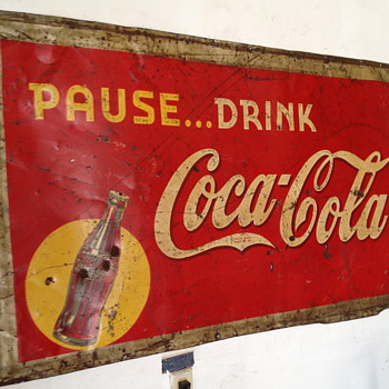 Coca Cola Sign from 1939 - Coca-Cola
