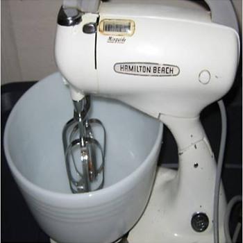 Vintage Hamilton Beach Stand & Hand Mixer - Kitchen