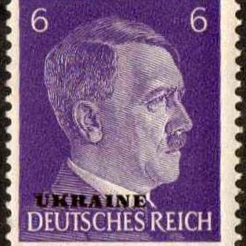 1943 - German (Occupation of Ukraine) Postage Stamps - Stamps