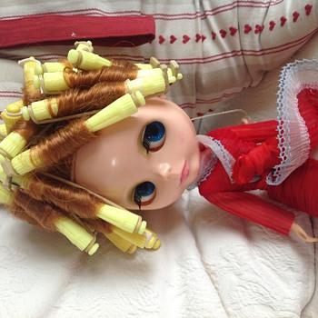 Blythe make over - Dolls