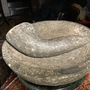 Another Molcajete y Tejolote - odd ones - Kitchen