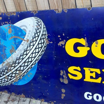 Goodyear Porcelain Signs - Signs
