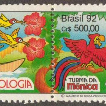 """Brazil - """"Turma da Monica"""" Postage Stamps - Stamps"""