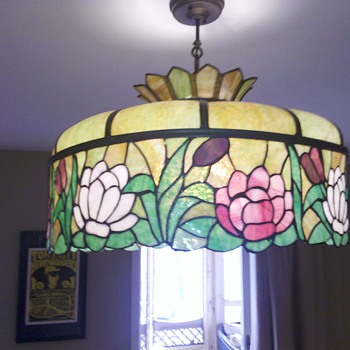 1911 Tiffany? chandelier - Lamps