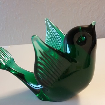 Reijmyre Glass Tyko Axelsson bird - Art Glass