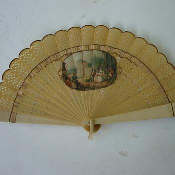 Ivory(?) fan - Accessories
