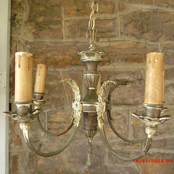 Old Victorian lamp I plan to restore and install  - Lamps