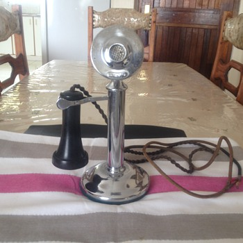 Western Electric Candle Stick Phone-January 113 - Telephones