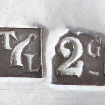 Silver mark, napkin rings