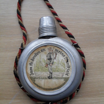 German ww1 Schnapps Flask.