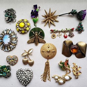 More of my Brooches..... - Fine Jewelry