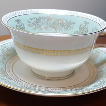 Wedgwood Bone China Cup and Saucer
