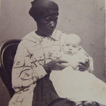 African American Mammy/ Nanny cdv - Photographs