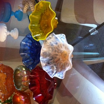 These are my MYSTERY bowls.  - Art Glass
