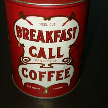 Breakfast Call Coffee Pantry Can - Kitchen