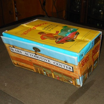 Matchbox Sears Service Staion Carrying Case Made By Ideal Circa 1968 - Model Cars
