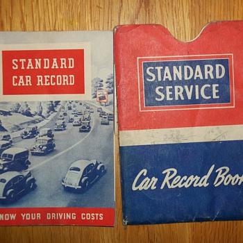 1940-1942 SERVICE RECORD - Petroliana