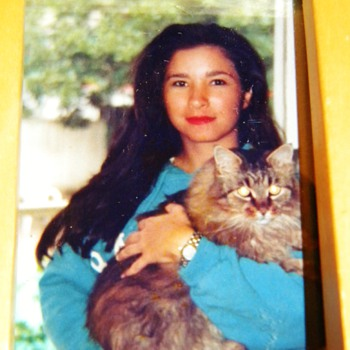 "My First Kitty Maine Coon ""Casey"" I was 19 Years Old! - Animals"