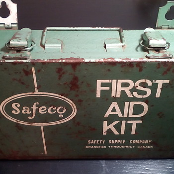 Safeco First Aid Kit - Tools and Hardware