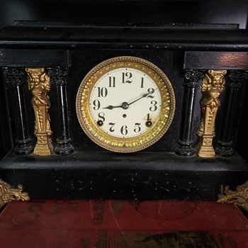 Black Mantle Clock - Clocks
