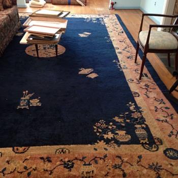 Vintage oriental rug - Rugs and Textiles