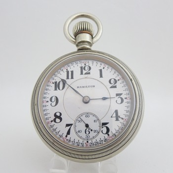 Hamilton No. 940 Railroad Timekeeper - Pocket Watches