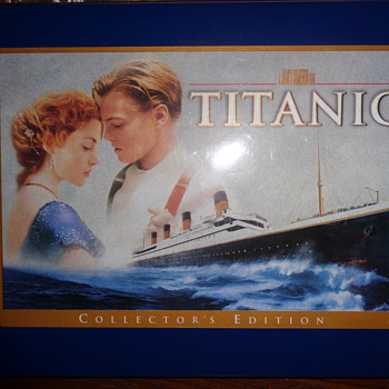 Titanic special collector's edition box