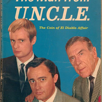 1965 - The Man From U.N.C.L.E. - Book - Paper