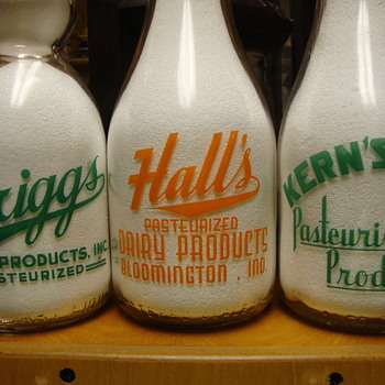 Local Milk Bottles Can Be Difficult To Find Too........... - Bottles