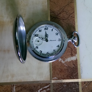 My Grandfather's Russian hunter pocket watch