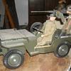 GI Joe 5 Star Jeep with Cotswold resin .50 Machine Gun