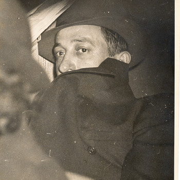 George Christie wanted for murder. New York, 1937 (A. Fellig photo)   - Photographs