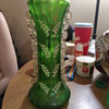 Green lily of the valley vase