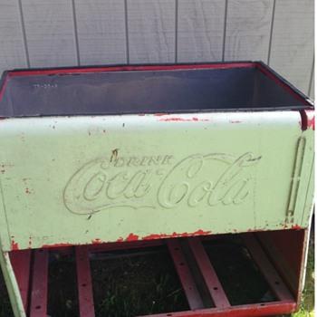 Coke cola cooler