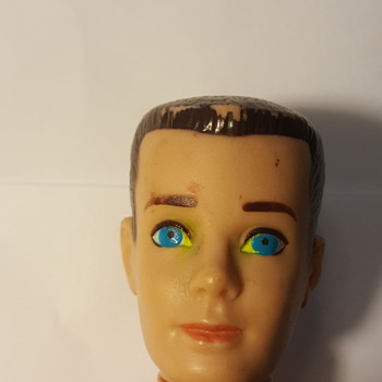 Ken doll 1963 store bought came with Yellow in eyes - Dolls