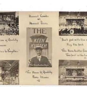 1908 Keen Kutter Post Card