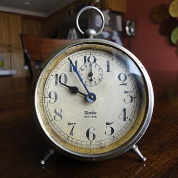 Vintage Westclox Baby Ben - Flea Market Find - $18 - Clocks