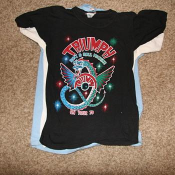 70's arena rock shirts