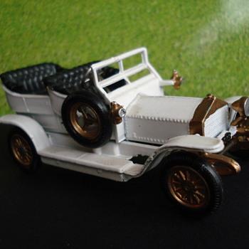 Metosul die cast model 1/43 scale Rolls Royce 1907 (Portugal) - Model Cars
