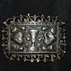 Egyptian Revival Silver Vintage Brooch
