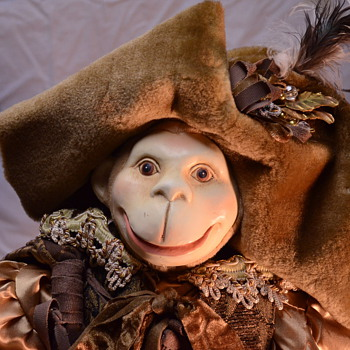 Victorian Pirate Monkey Doll - Dolls