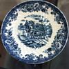 Monarh hand painted England plate