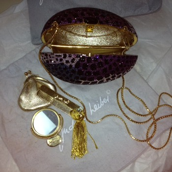 Need more info and maybe pricing for Moms Judith Leiber Egg clutch/handbag - Bags